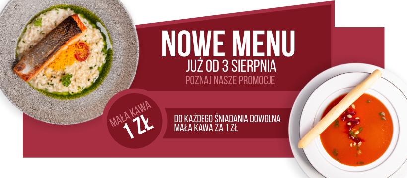 Nowa karta od 3 sierpnia - Restauracja Sowa